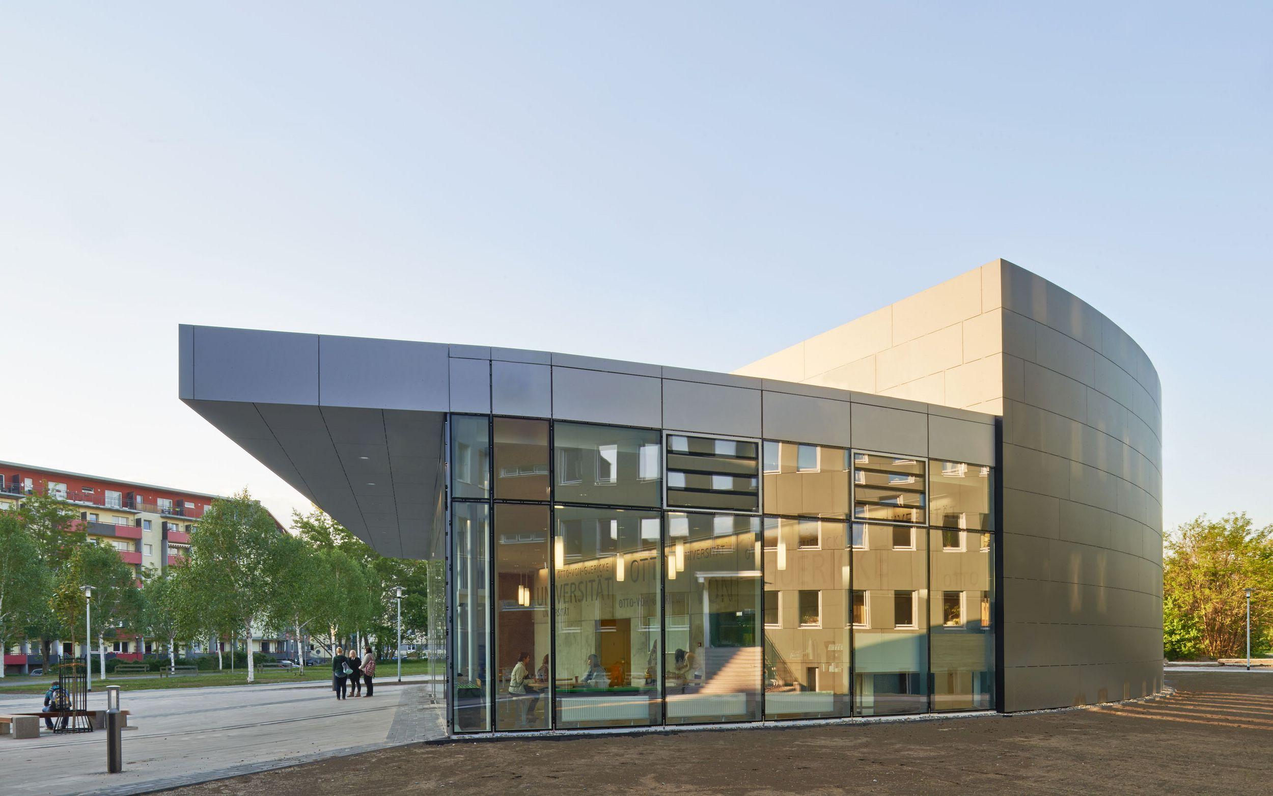 Architektur Magdeburg otto guerike md