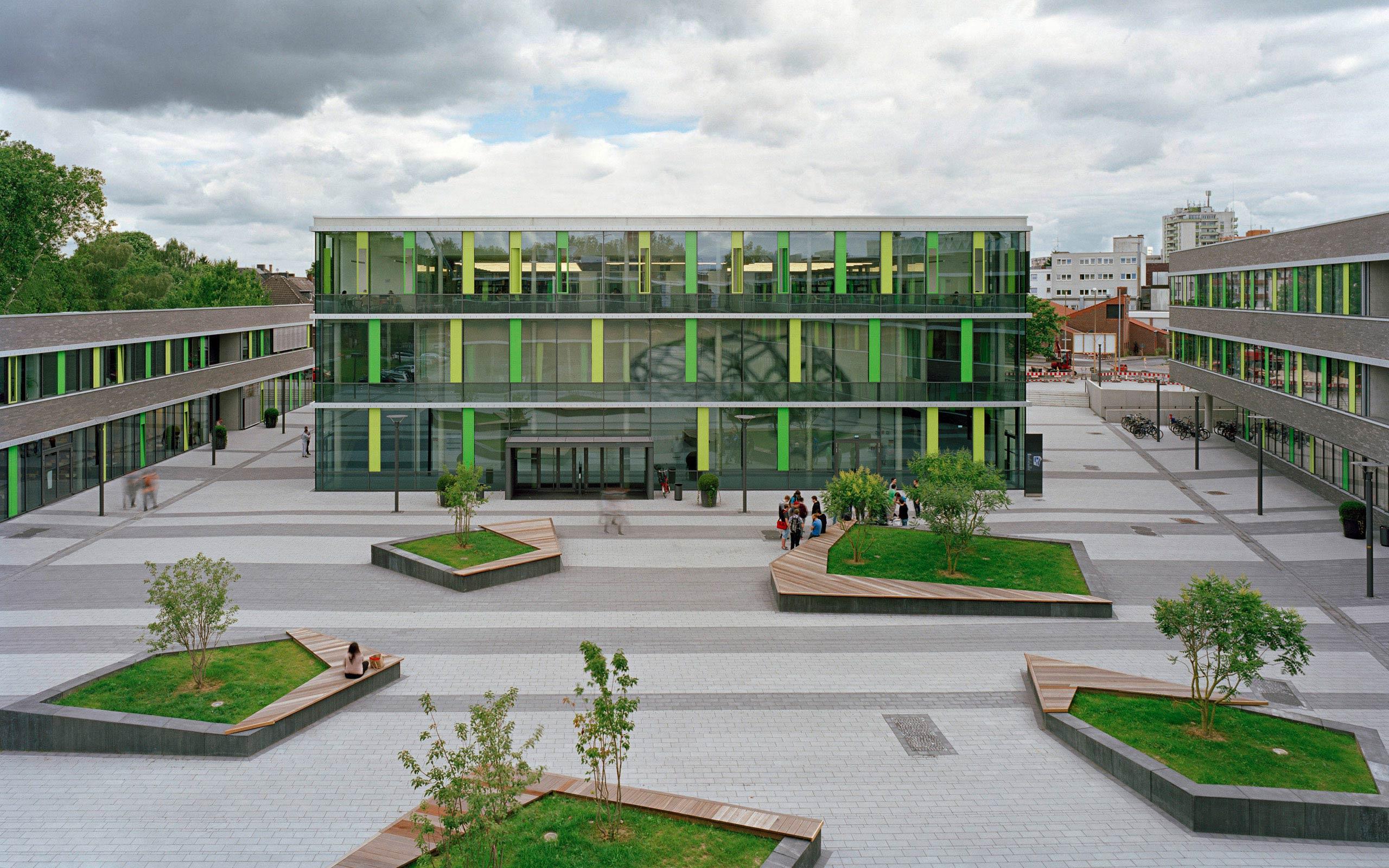 Rhein waal university of applied sciences for Uni architektur