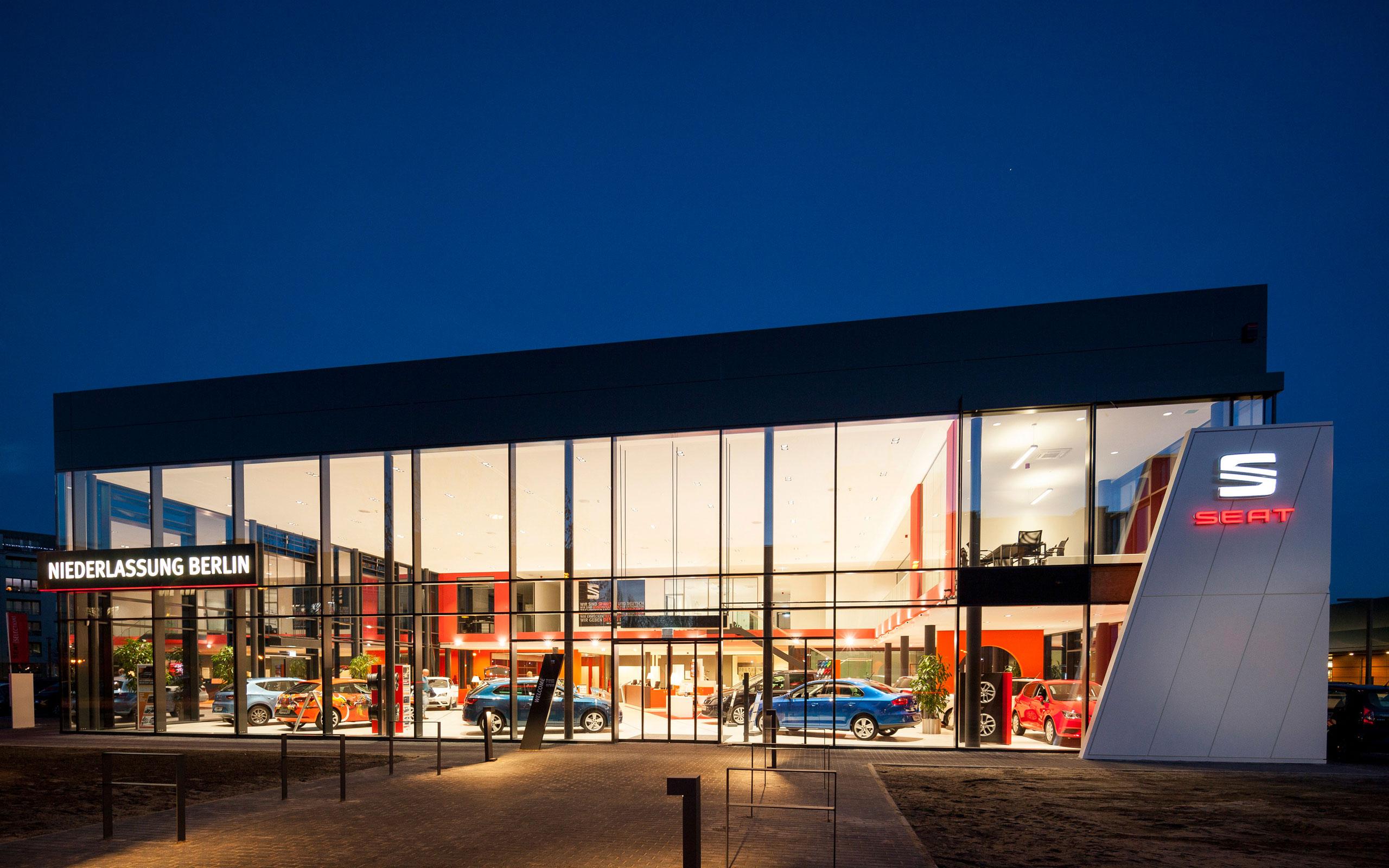 Autohaus Seatdeutschlandniederlassunggmbh Berlin Architektur
